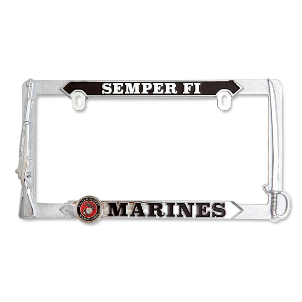 U.S. Marines Semper Fi 3D License Plate