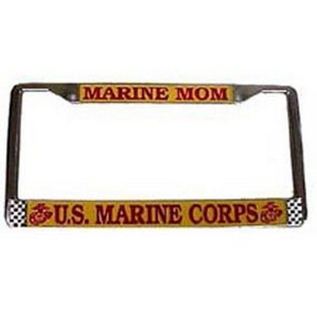 Marine Mom License Frame