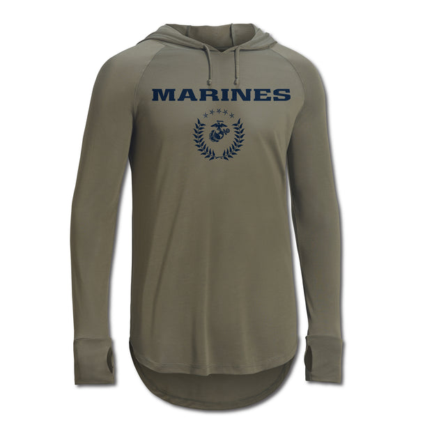 Marines Hooded Performance Shirt