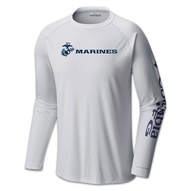 Marines Columbia Tackle Shirt