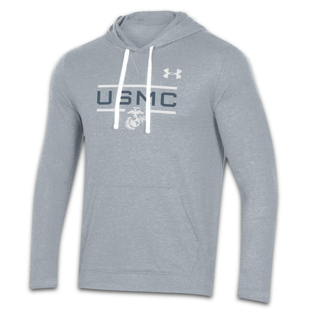 Under Armour USMC & EGA Hooded Long Sleeve T-shirt