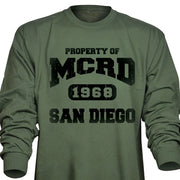 Property of MCRD Long Sleeve T-Shirt
