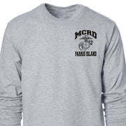 MCRD Location and Year State Long Sleeve T-shirt