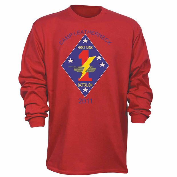 1st Tank Battalion Shooter Long Sleeve T-Shirt