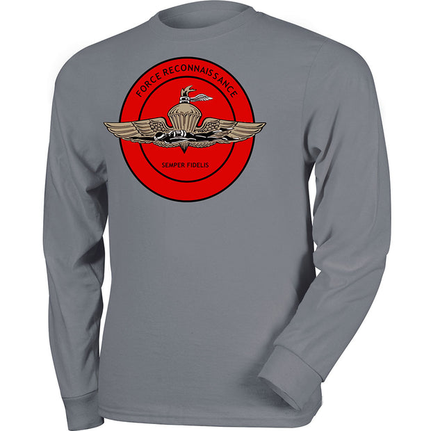 U.S. Marines Force Recon Long Sleeve T-Shirt