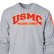 USMC MOS Long Sleeve T-Shirt