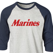Marines Baseball Raglan T-Shirt