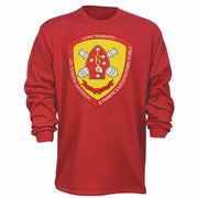10th Marines 2nd Marine Division Long Sleeve T-Shirt