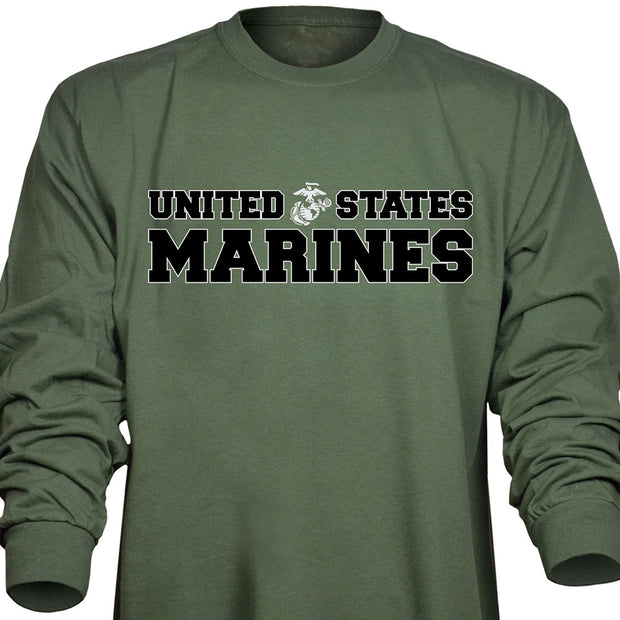 United States Marines Long Sleeve T-Shirt