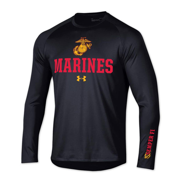 Marines Under Armour Performance Long Sleeve