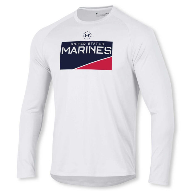 UA US Marines Long Sleeve Performance