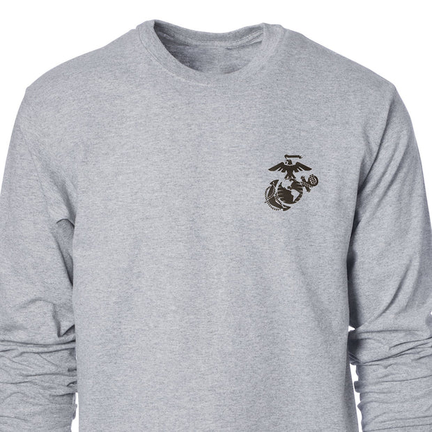 US Marines Eagle, Globe and Anchor Long Sleeve T-Shirt