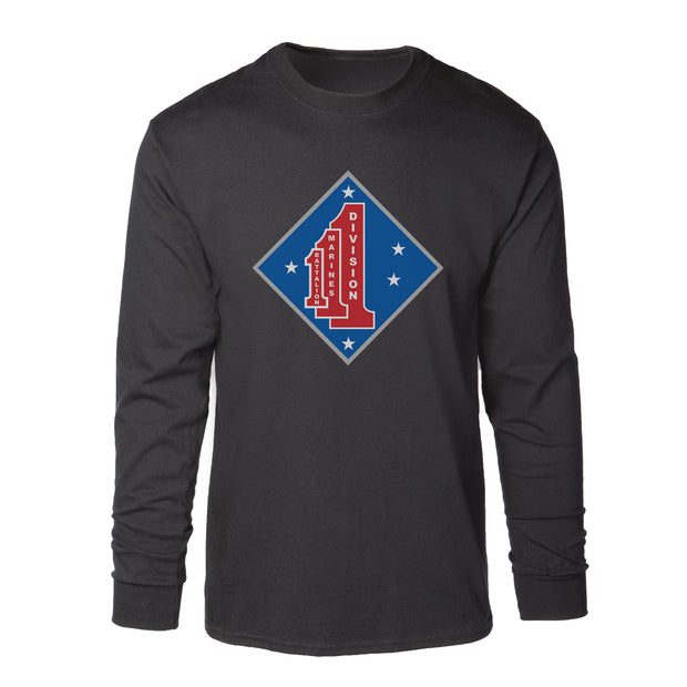 1st Battalion 1st Marines Long Sleeve Shirt