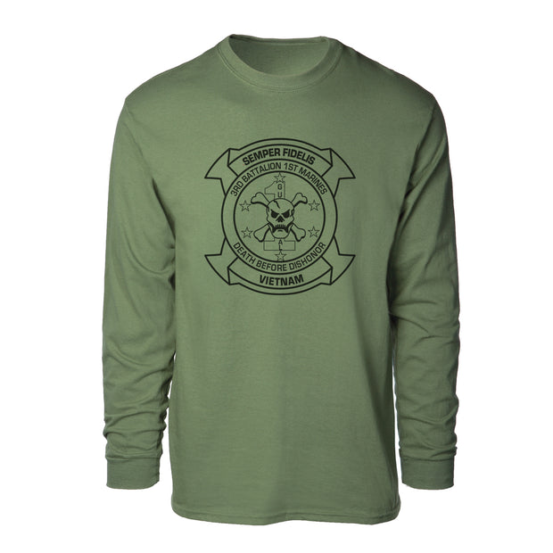 3rd Battalion 1st Marines Long Sleeve Shirt