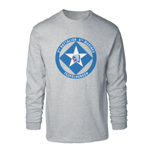 3rd Battalion 6th Marines Long Sleeve Shirt