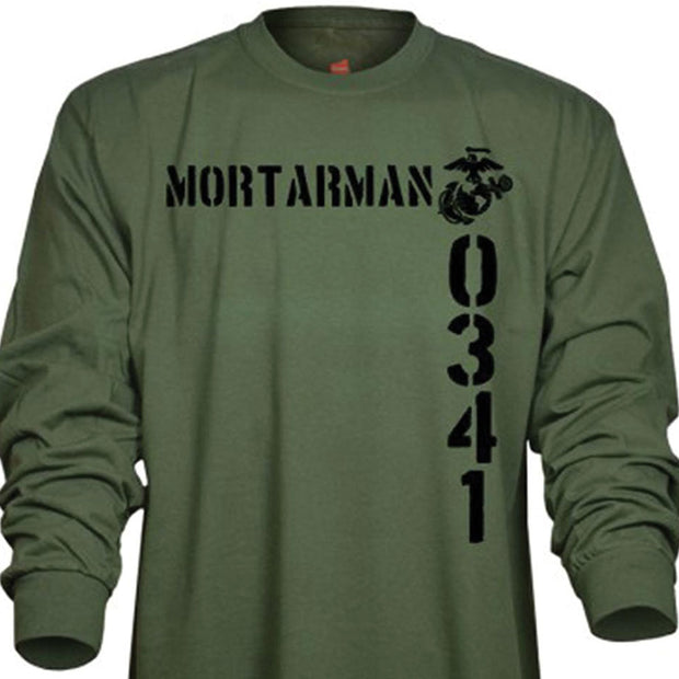 Marine MOS Long Sleeve T-Shirt