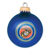 SGT Grit Exclusive Boxed Set of 2 Glass Ball Ornaments