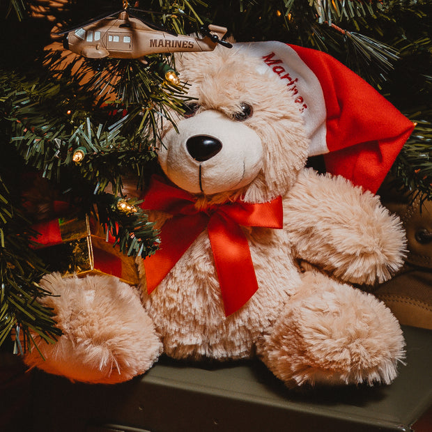 US Marine Holiday Bear