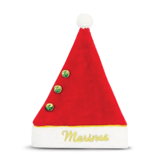 Marine Corps Red Santa Hat