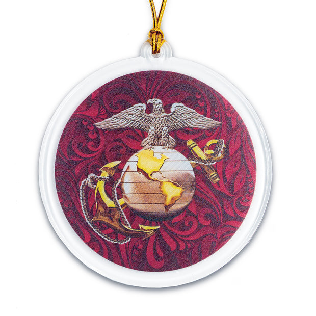 Filigree Round Ornament Acrylic EGA