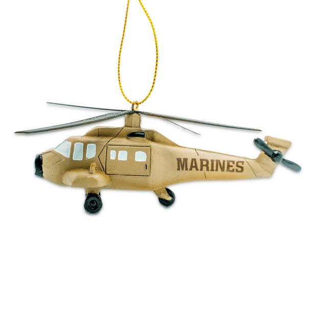 Marines Helicopter Ornament