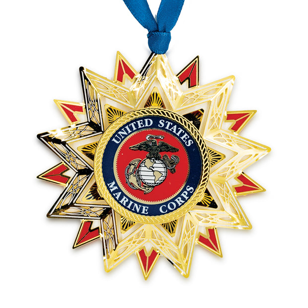 US Marine Corps Star Ornament
