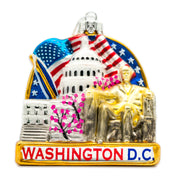 Washington DC Cityscape Ornament