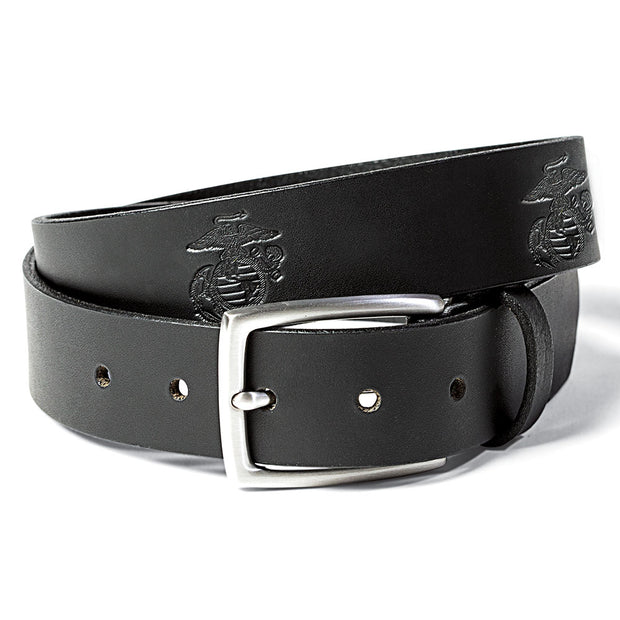 Men's EGA Embossed Leather Belt
