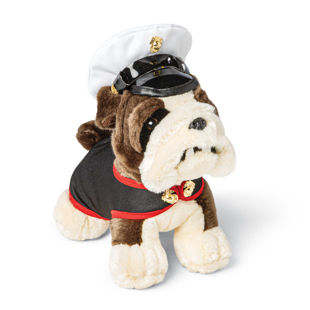 USMC Dress Blues Bulldog