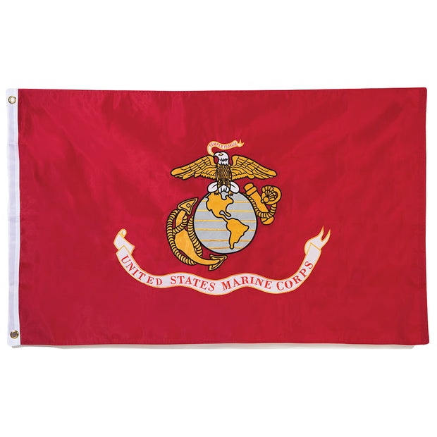 Single Sided Printed Marine Corps 3'x5' Polyester Flag