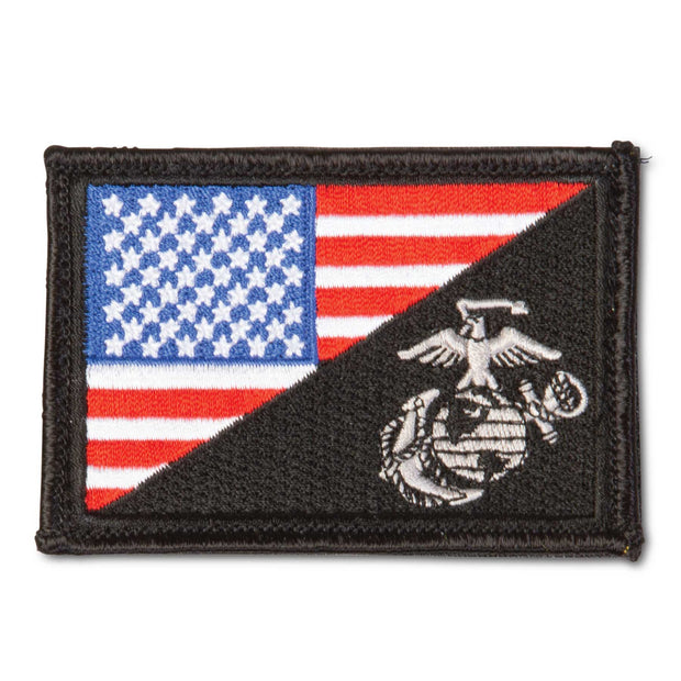 Flag Patch Black
