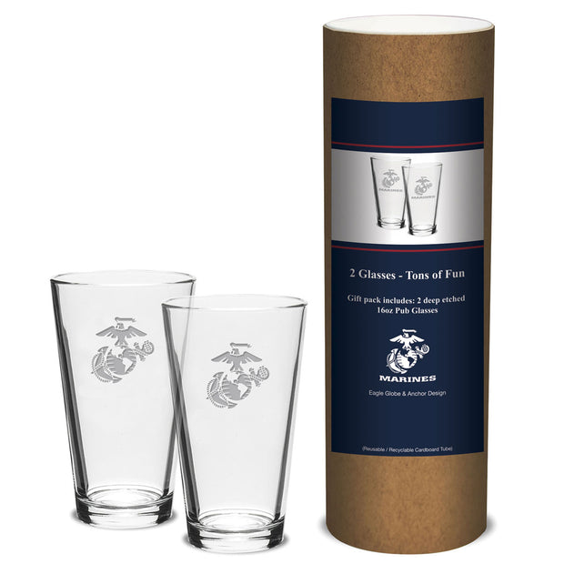 EGA Pint Glasses Set