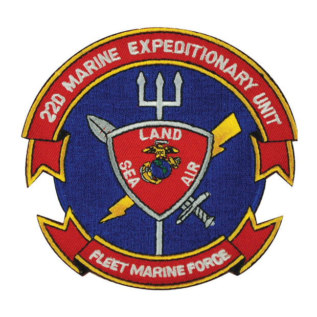 22nd MEU - Fleet Marine Force Patch