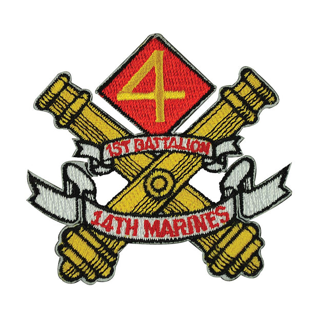 1st Battalion 14th Marines Patch
