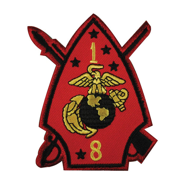 1st Battalion 8th Marines Patch