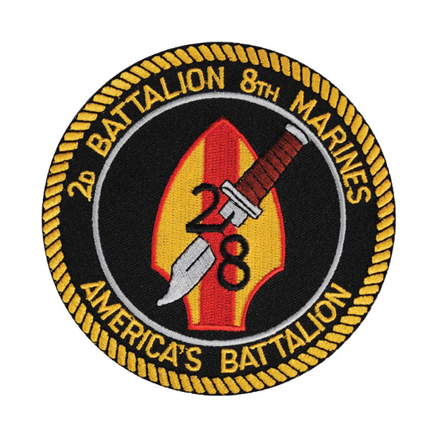 2nd Battalion 8th Marines Patch