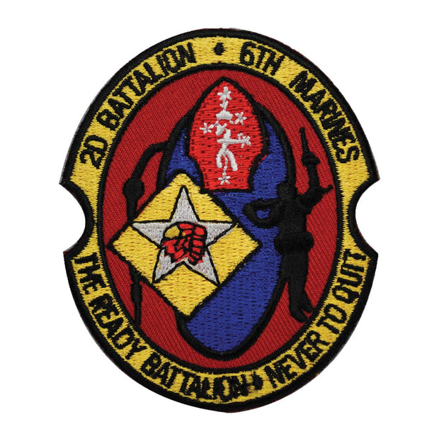 2nd Battalion 6th Marines Patch