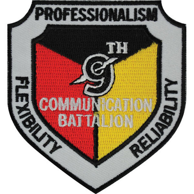 9th Communications Battalion Patch
