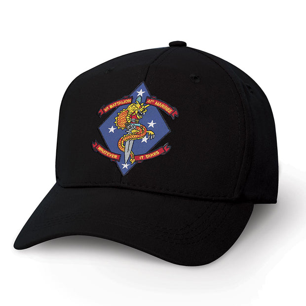 1st Battalion 4th Marines Patch Hat