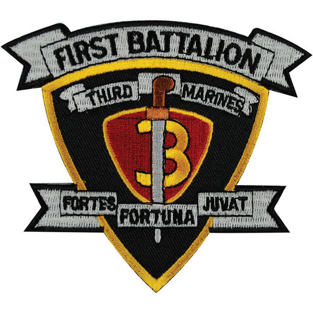 1st Battalion 3rd Marines Patch