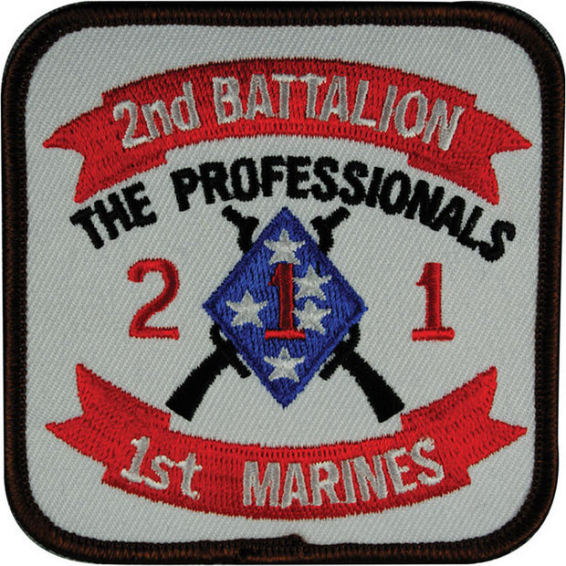 2nd Battalion 1st Marines Patch