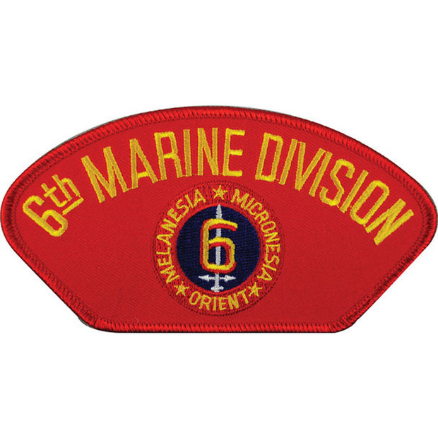 6th Marine Division Cover Patch