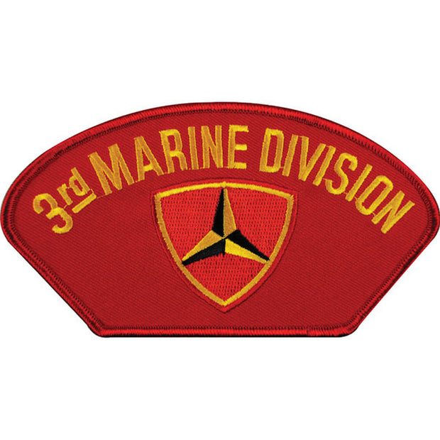 3rd Marine Division Cover Patch