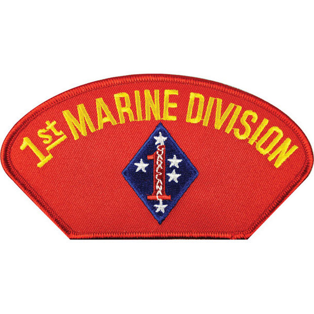 1st Marine Division Cover Patch