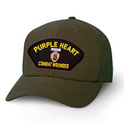Purple Heart Combat Wounded Cover Patch Cover