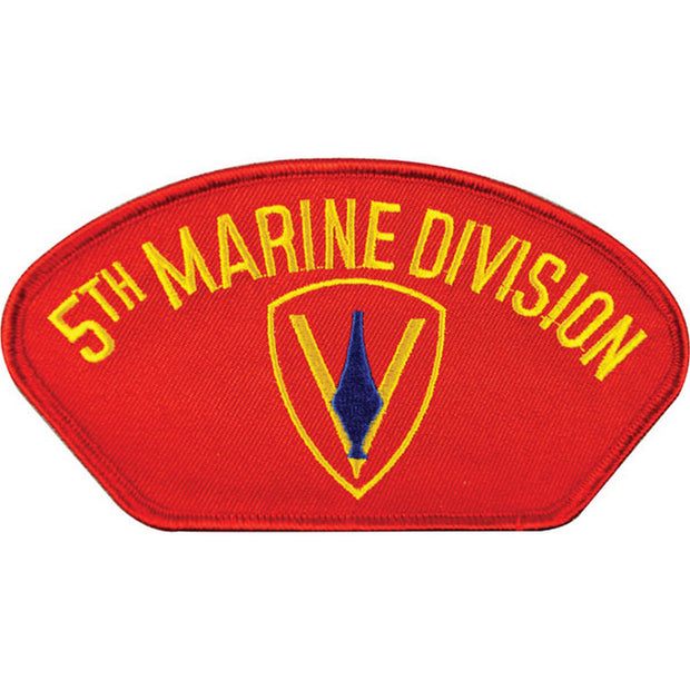5th Marine Division Cover Patch