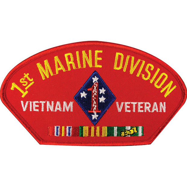 Vietnam - 1st Marine Division Veteran Cover Patch