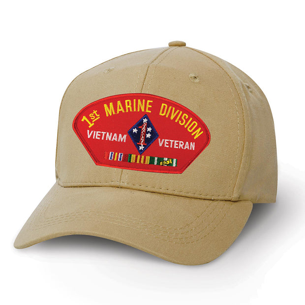 1st Marine Division Vietnam Vet Patch Cover