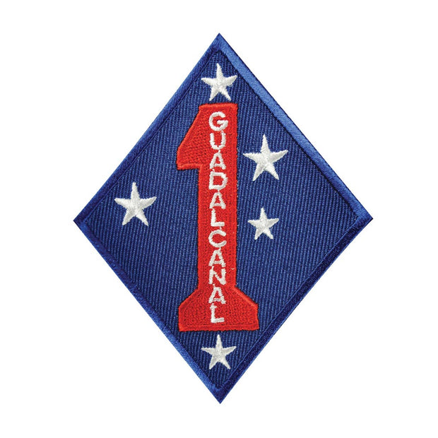 Guadalcanal 1st Mar Div Patch