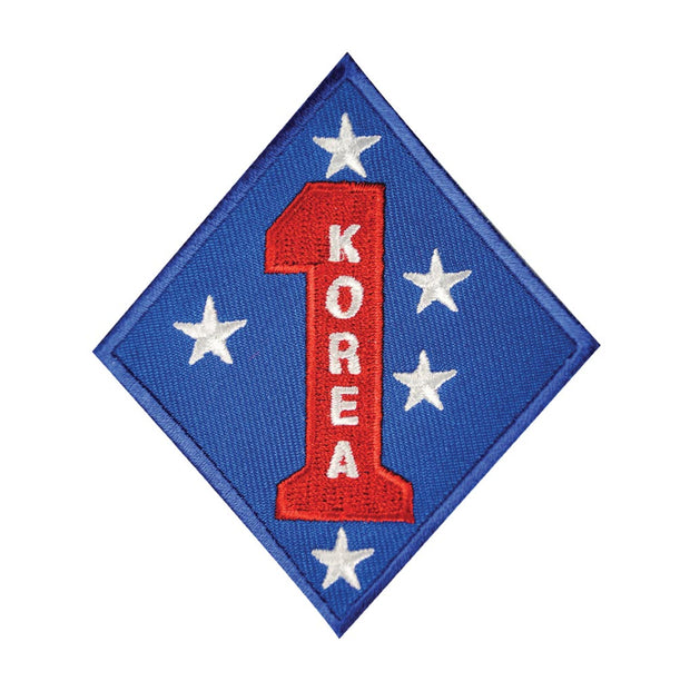 Korea - 1st Marine Division Patch